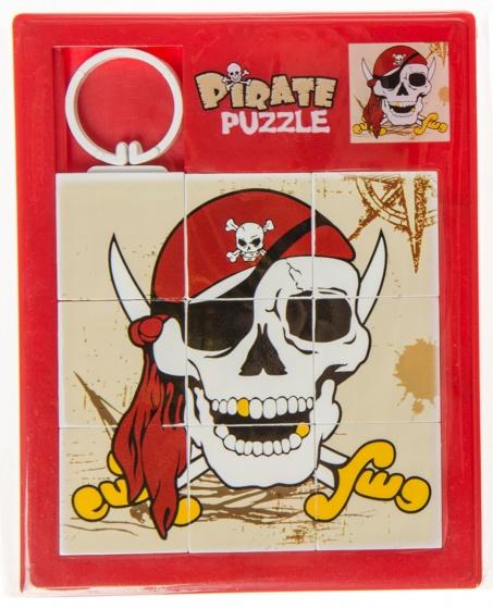 LG Imports schuifpuzzel piraat sabel 11,5 cm rood