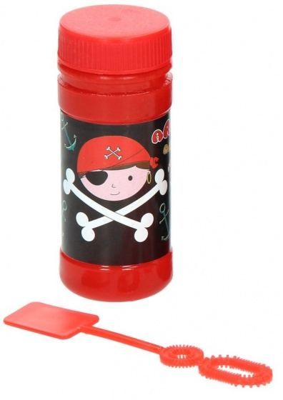 bubble bladder Pirate 50 ml black/red