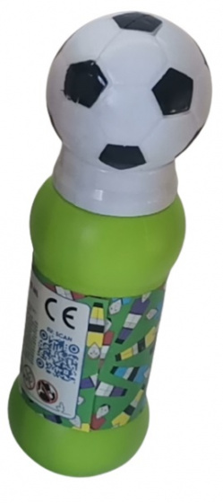 LG Imports bellenblaas Soccer jongens 240 ml cm groen/wit