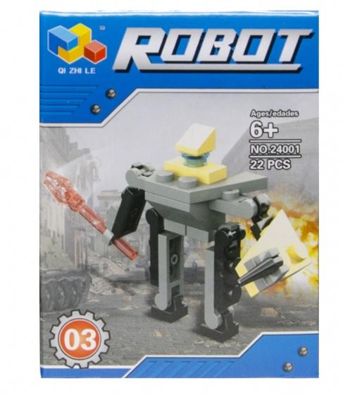 LG Imports bouwset robot 22 delig (24001 03)