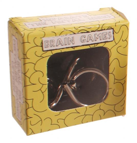LG Imports breinbreker Brain Games 5 x 5 cm geel