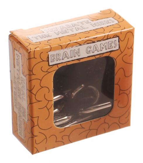 LG Imports breinbreker Brain Games 5 x 5 cm oranje