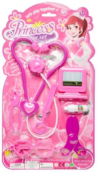 LG Imports doktersset Princess 7 delig paars