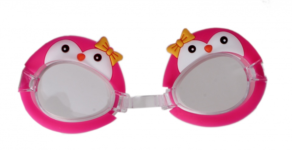 LG Imports zwembril pinguin roze kopen