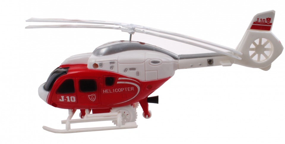 LG Imports Helikopter rood 23 cm