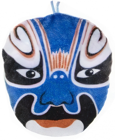 cuddly mask Samuraiboys 14 cm plush blue
