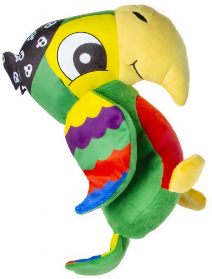 cuddly parrot junior 25 cm plush green