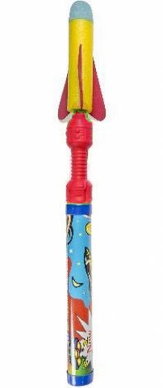 Lg imports lanceerraketschiet deze gave schuimraket de ruimte in! zet hem op het pistool en lanceer hem! ...