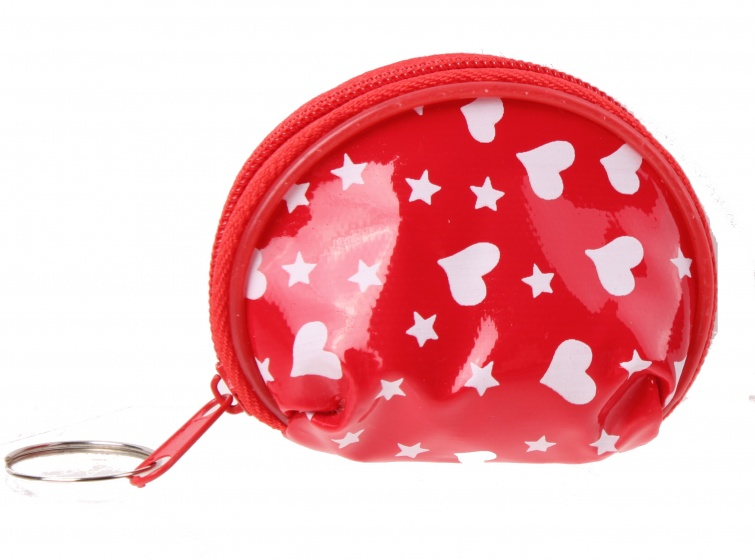 LG-Imports mini wallet hearts red