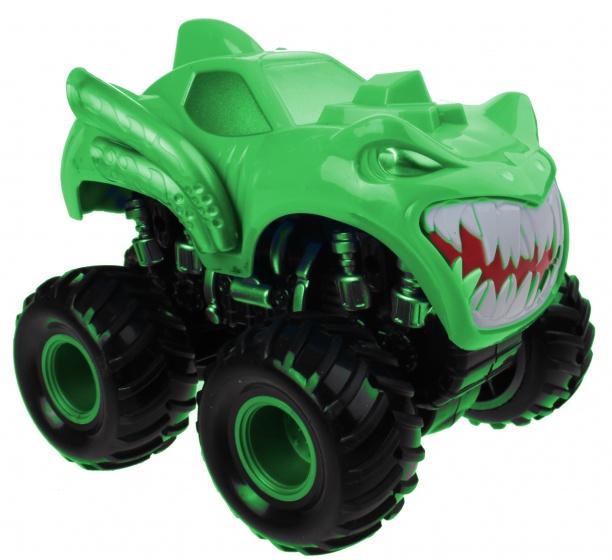 LG Imports monstertruck die cast 16 cm groen