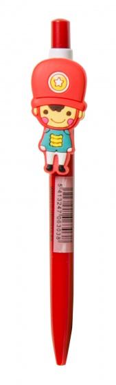 LG Imports pen met poppetje 14 cm rood