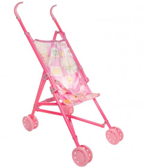 LG Imports poppenbuggy 55 cm roze
