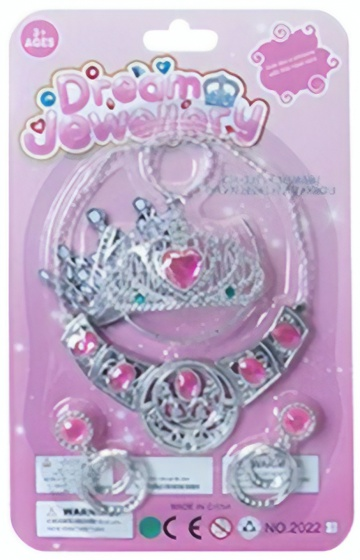 LG Imports sieradenset Dream Jewellery 4 delig roze