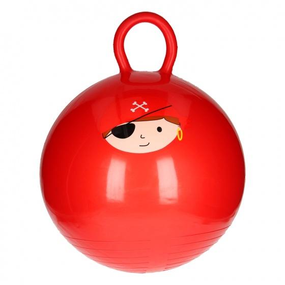 LG Imports skippybal Piraat junior 46 cm rood