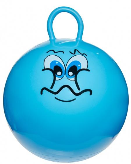 LG Imports skippybal smiley 46 cm blauw