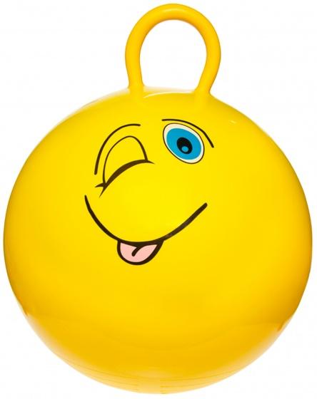 LG Imports skippybal smiley 46 cm geel