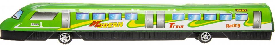 LG Imports speelgoedtrein Modern Racing junior 37,5 cm groen kopen