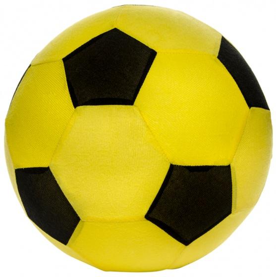 LG Imports speelgoedvoetbal mesh 50 cm geel