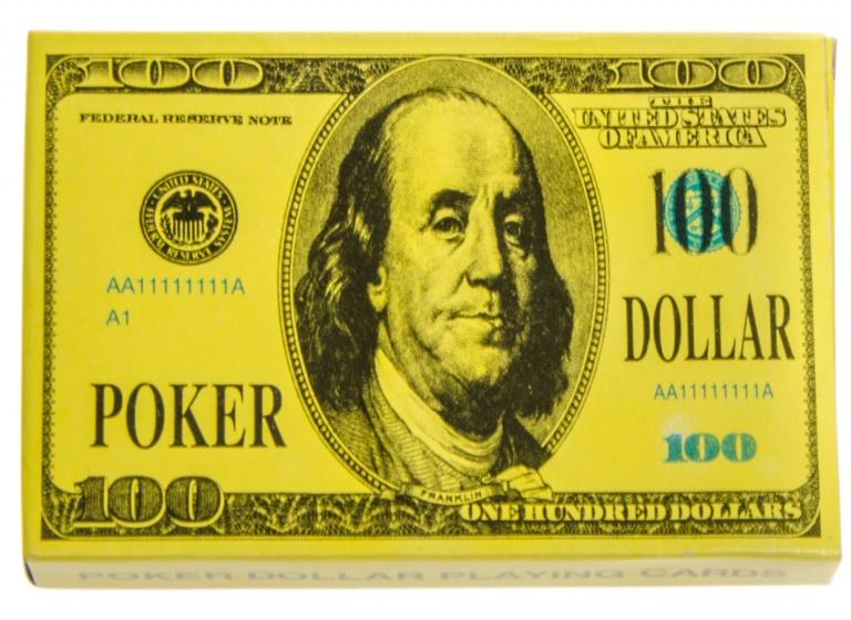 LG Imports speelkaartenset dollar kopen