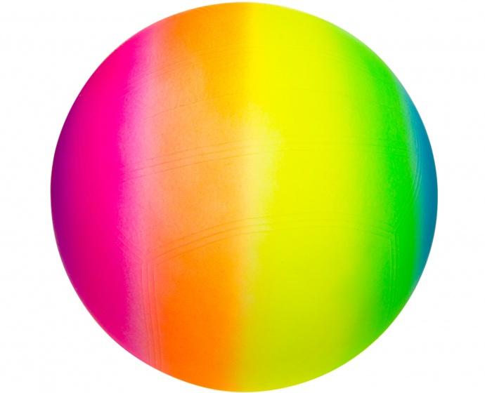LG Imports strandbal regenboog 23 cm