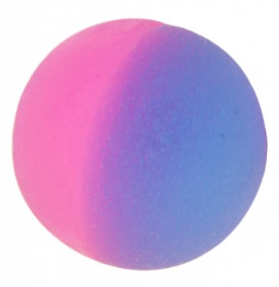 LG Imports stuiterbal roze paars 2,5 cm