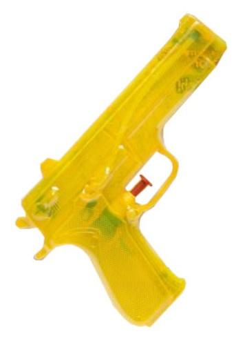 LG Imports waterpistool geel 19 cm