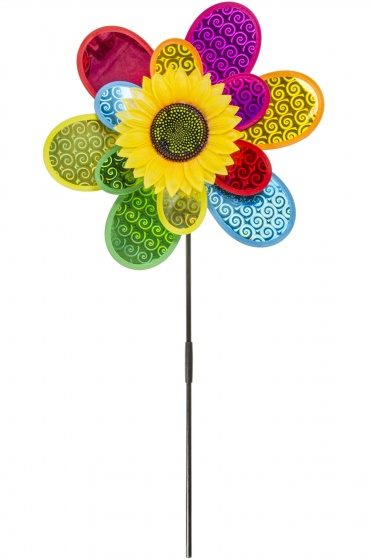 LG Imports windmolen bloem 75 cm