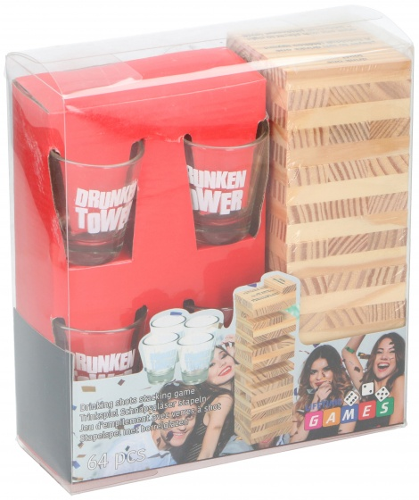 drinking game Drunken TowerJenga 64-piece