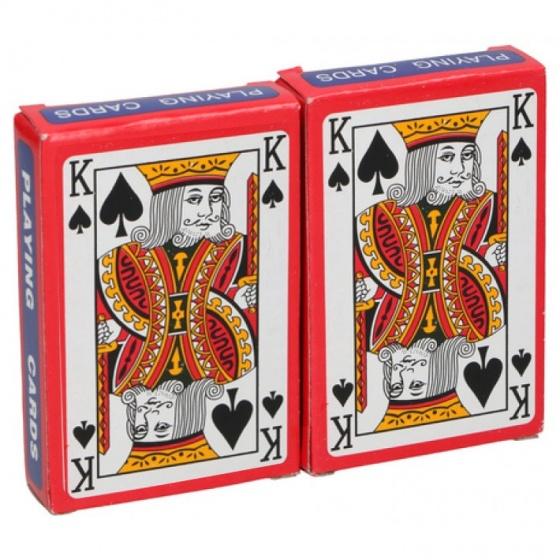 Speelkaarten op blister
