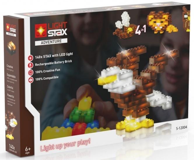 Light Stax Uitbreidingsset mix met kabel avontuur 140 stuks
