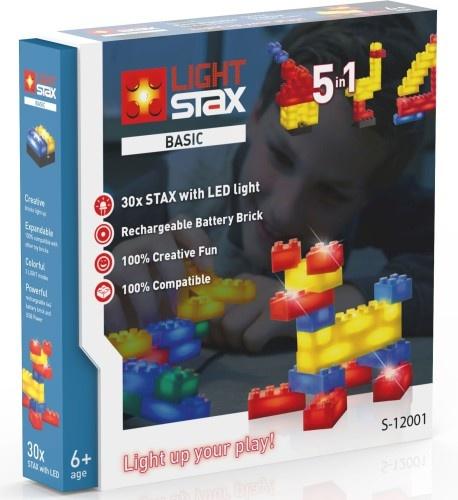 Light Stax Uitbreidingsset mix met kabel rood/geel 30 stuks