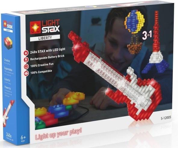 Light Stax Uitbreidingsset mix met kabel vrijheid 240 stuks