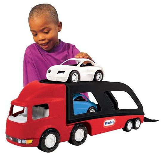 Little Tikes Autotransporter 72 x 19 x 25 cm rood/zwart
