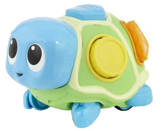 Little Tikes kruipende schildpad 23 x 16 x 14,5 cm blauw/groen