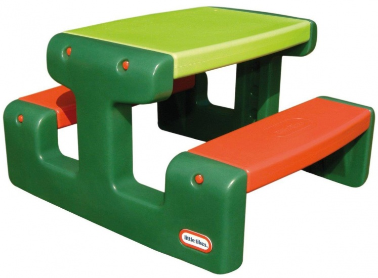 Little Tikes Picknicktafel Evergreen 479a