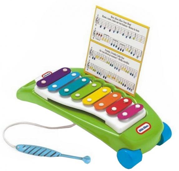 Little Tikes Xylofoon kunststof 41,3 x 10,8 x 18,5 cm groen