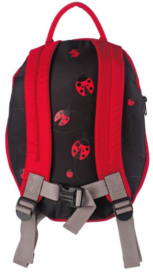 backpack Ladybug 6 litres polyester red