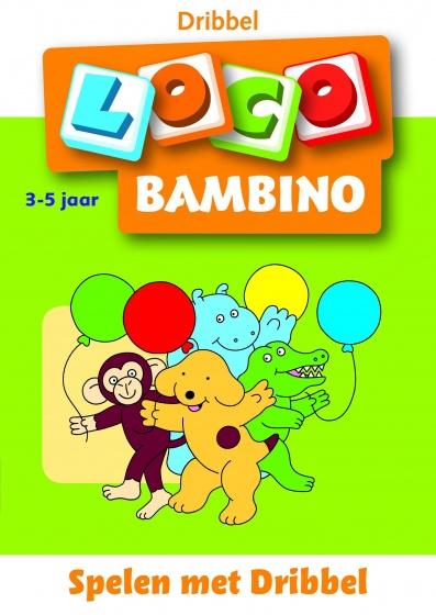 Loco Bambino: Leerboekje Spelen met Dribbel 3 5 jaar
