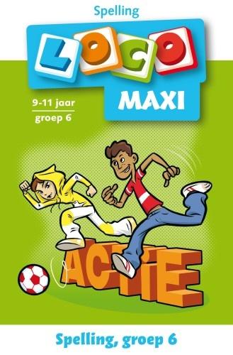 Loco Maxi: Spelling Actie 9 11 Jaar Groep 6