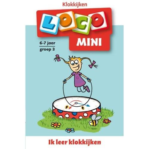 Loco Mini: Ik Leer Klokkijken 6 7 Jaar