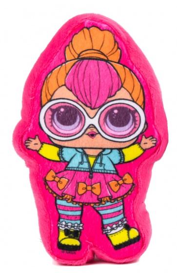 L.O.L. Surprise kussen knuffelvriendje 30 cm roze