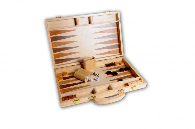 Longfield Games Backgammon Hout 48X38CM