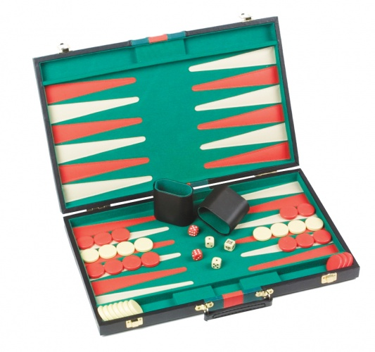 Longfield Games Backgammon Piping 36X27.5CM