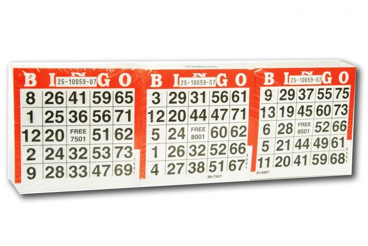 Longfield Games bingokaarten 1500 vellen