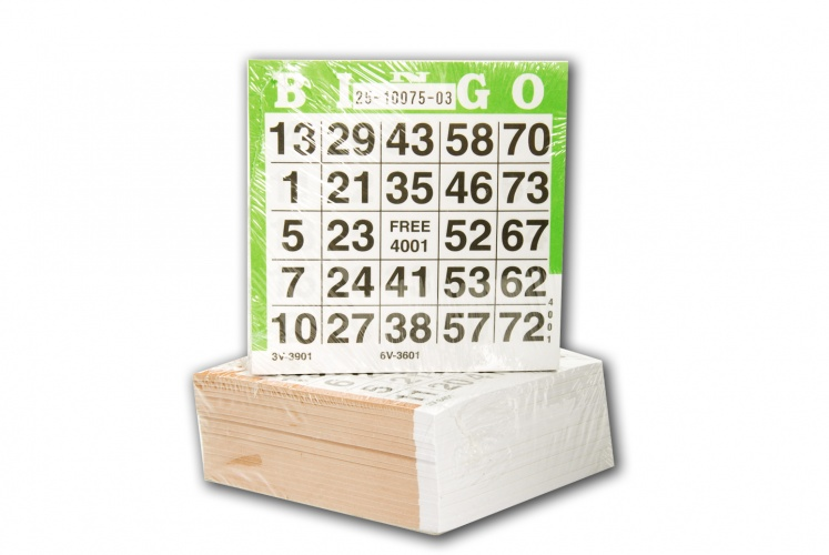 Longfield Games bingokaarten 500 vellen