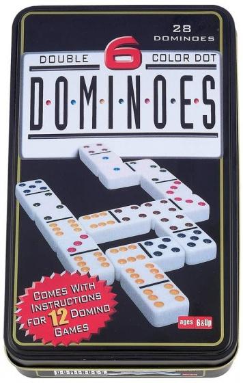Longfield Games Domino dubbel 6