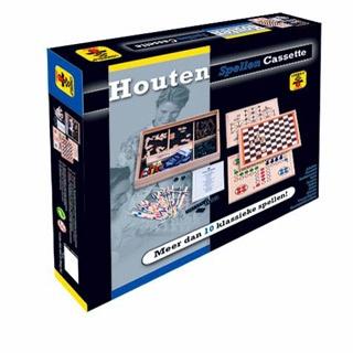 Longfield Games Houten Meerspellen Cassette