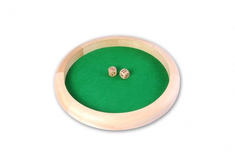 Longfield Games Houten Ronde Pokerpiste 29cm