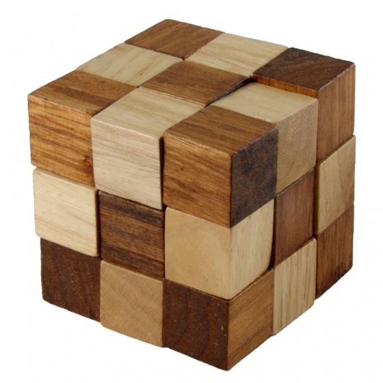 Longfield Games IQ puzzel kubus 8 cm