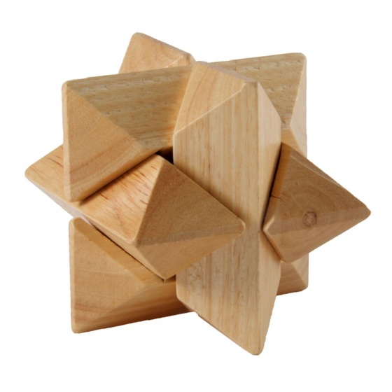 Longfield Games IQ puzzel ster 8 cm